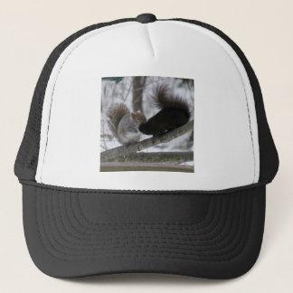 Black Squirrel Trucker Hat