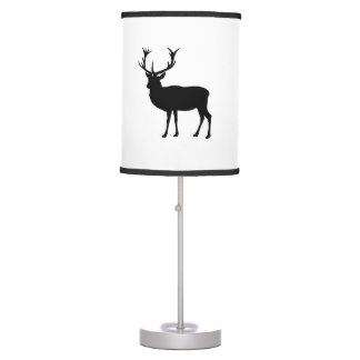 Black Stag Table Lamp