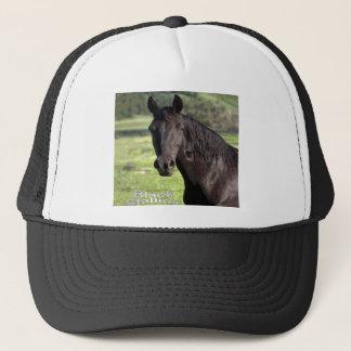 Black-Stallion cap