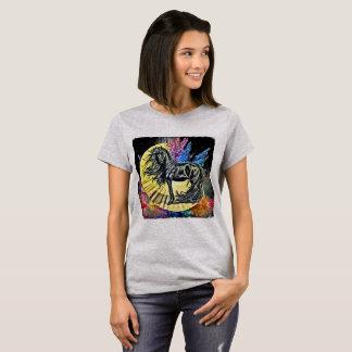 Black Stallion horse clothing T-Shirt
