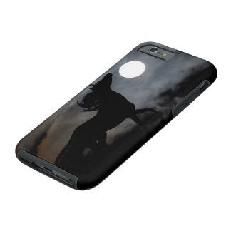 Black Stallion Night Silhouette Tough iPhone 6 Case