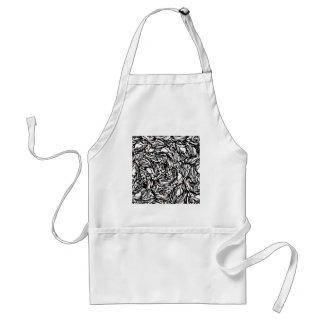 black standard apron