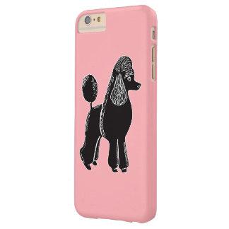 Black Standard Poodle Pink iPhone 6/6s Plus Case