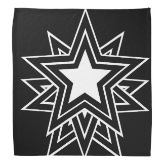black star bandana