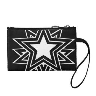 black star coin purse