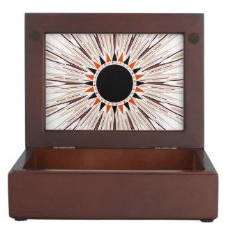 Black star keepsake boxes