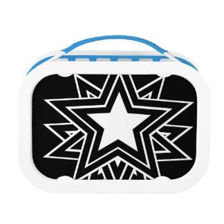 black star lunch box
