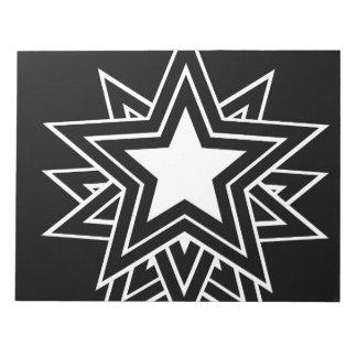 black star notepad