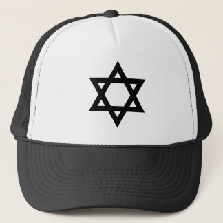 Black Star of David Trucker Hat