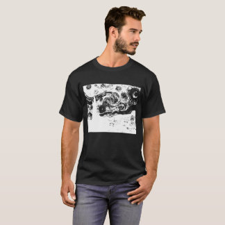 Black Starry Night T-Shirt