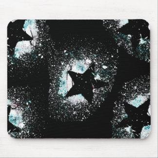 Black Stars Mouse Pad