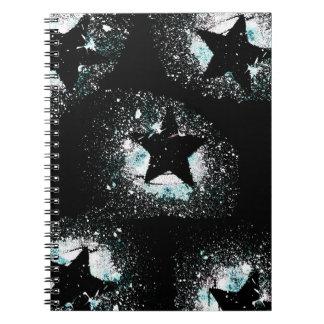 Black Stars Notebook