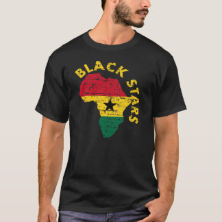 Black Stars of Ghana T-Shirt