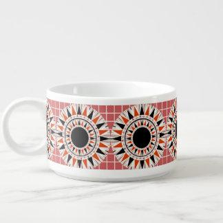 Black stars pattern bowl