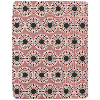 Black stars pattern iPad cover