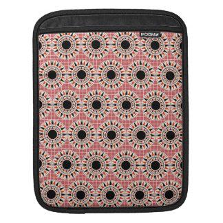 Black stars pattern iPad sleeve