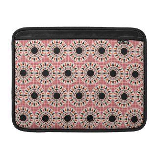 Black stars pattern sleeve for MacBook air