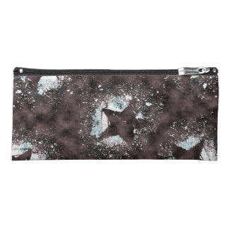 Black Stars Pencil Case