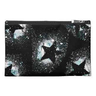 Black Stars Travel Accessory Bag