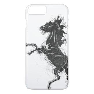 Black Steed iPhone 7 Plus Case