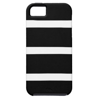 Black Stripe With White Case For The iPhone 5