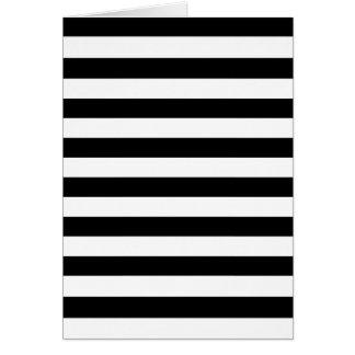 Black Stripes Card
