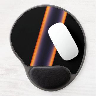 Black Stripes Gel Mouse Pad