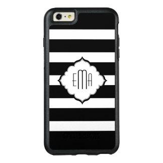 Black Stripes Pattern OtterBox iPhone 6/6s Plus Case