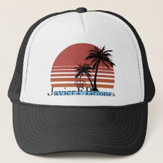 Black Summer Trucker Hat