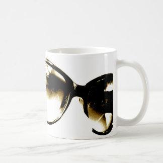 Black Sunglasses Coffee Mugs