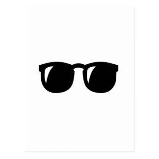 Black Sunglasses Postcard