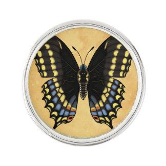Black Swallowtail Butterfly Lapel Pin