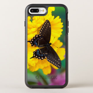 Black Swallowtail butterfly OtterBox Symmetry iPhone 8 Plus/7 Plus Case
