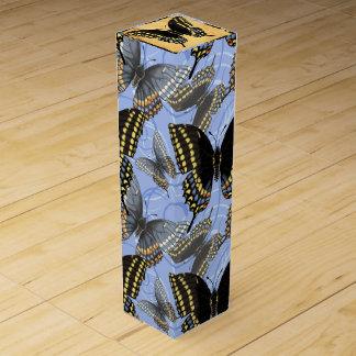 Black Swallowtail Butterfly Wine Box