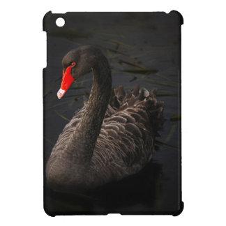 Black-swan-1229 iPad Mini Cover