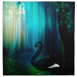 BLACK SWAN NAPKIN
