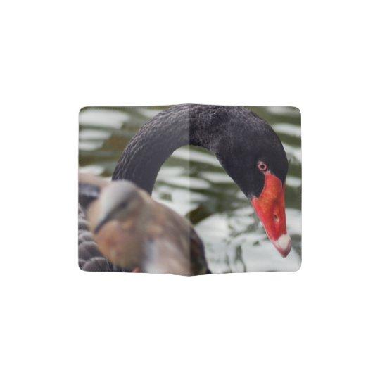 BLACK SWAN PASSPORT HOLDER