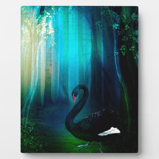 BLACK SWAN PLAQUE