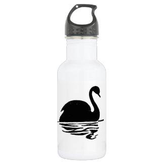 Black Swan Silhouette 532 Ml Water Bottle
