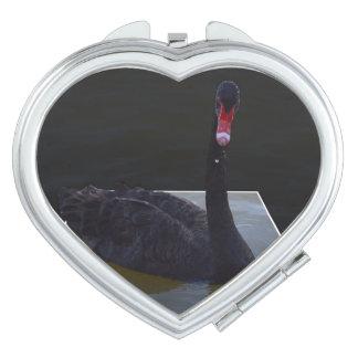 Black Swan Swimming In A Dimensional Pond, Makeup Mirror