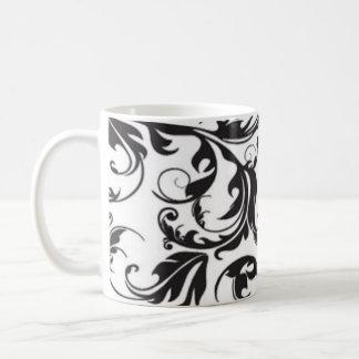 Black Swirl Coffee Mug