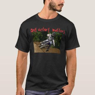"Black t-shirt Mcurta Motocross Print frontal """