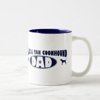 Black & Tan Coonhound Dad Mug