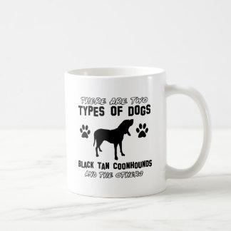 black tan coonhound gift items classic white coffee mug