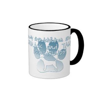 Black & Tan Coonhound Grandchildren Coffee Mug