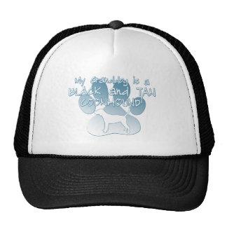 Black & Tan Coonhound Granddog Hats