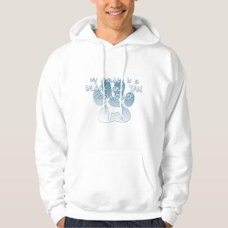 Black & Tan Coonhound Granddog Hooded Sweatshirts