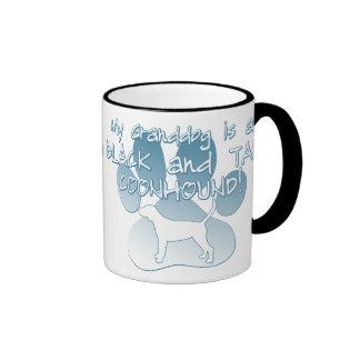 Black & Tan Coonhound Granddog Coffee Mug