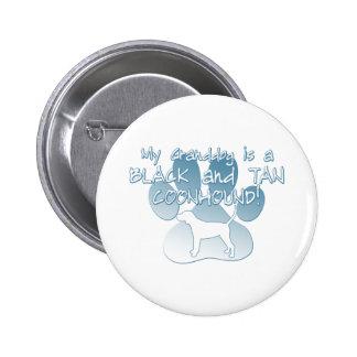 Black Tan Coonhound Granddog Pins