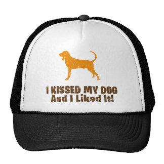 Black & Tan Coonhound Trucker Hat